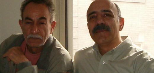 ماسیس عزیزخانیان (چپ) و سعید یوسف، 2007، شیکاگو