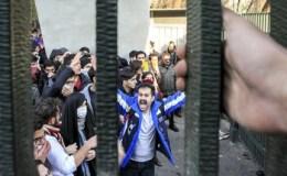 Studentenproteste in Teheran gegen die Regierung (30.12.2017)