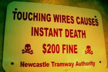 sign-instant-death-wires-newcastle-1118807