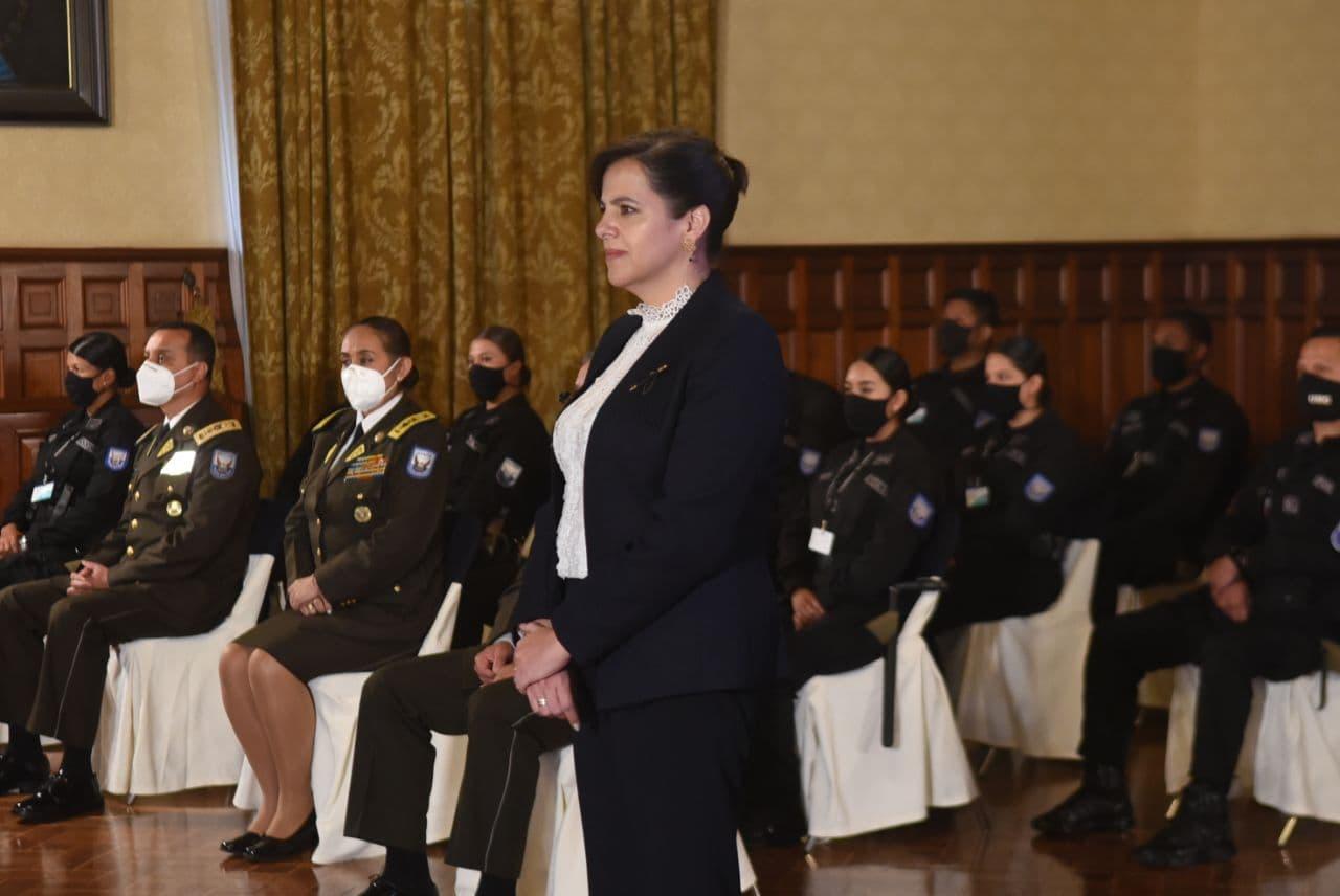 La Asamblea ha dado también un golpe a la Policía con la censura de María Paula Romo