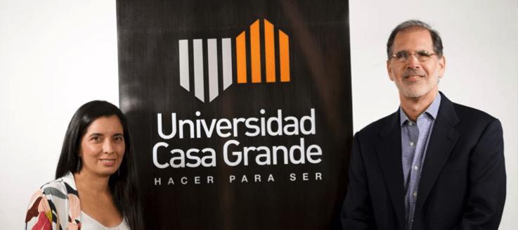 Ernesto Noboa y Bernardita Justiniano, las nuevas autoridades de la UCG