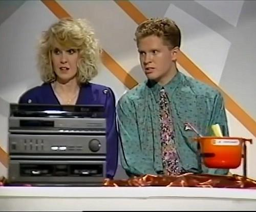 Scene from the Generation Game gameshow