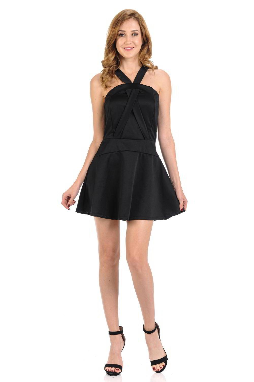 Diamante Fashion Women's Dress · Short · Style D310
