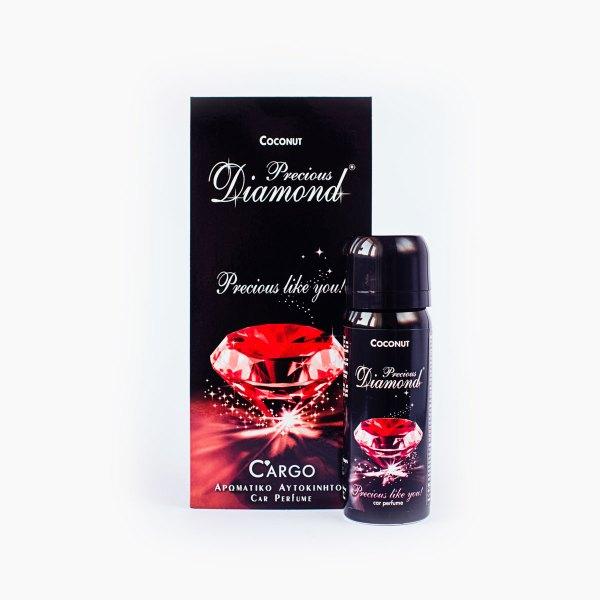 Coconut - zestaw zapachów: zawieszka i aerozol.