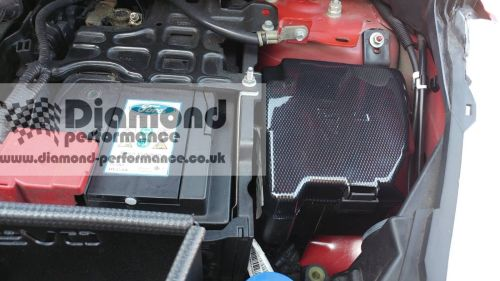 small resolution of ford fiesta mk7 7 5 all models inc st fuse box cover carbon fibre ford fiesta