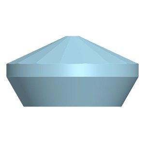 Type IIas RULF Diamond Anvils