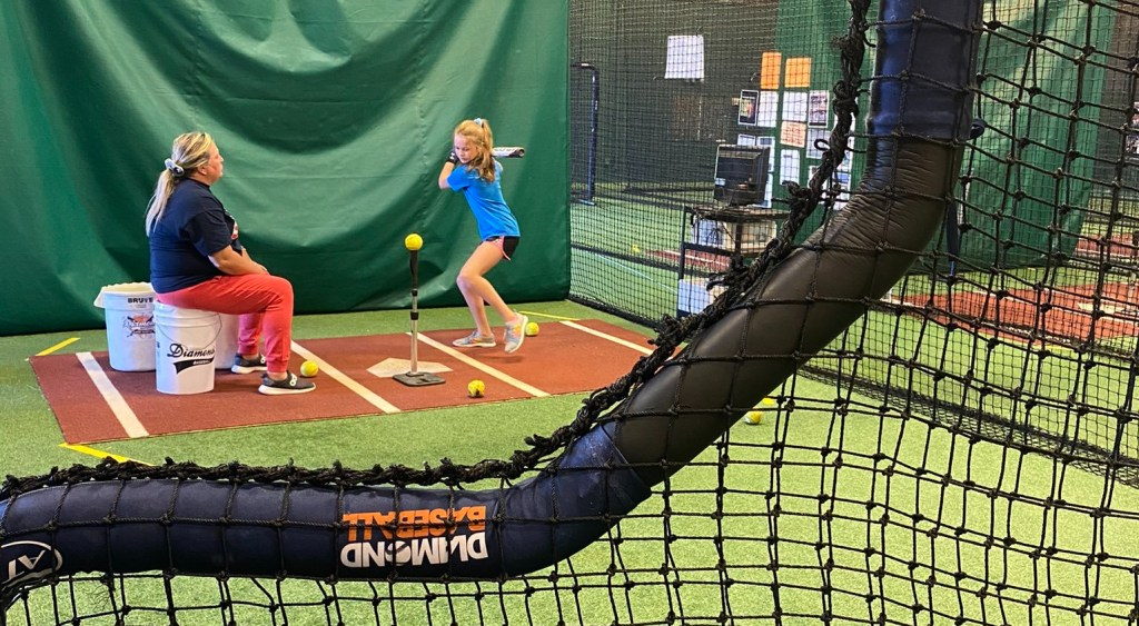 Diamond softball lessons