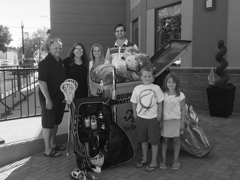 Kidsport Equipment Drive