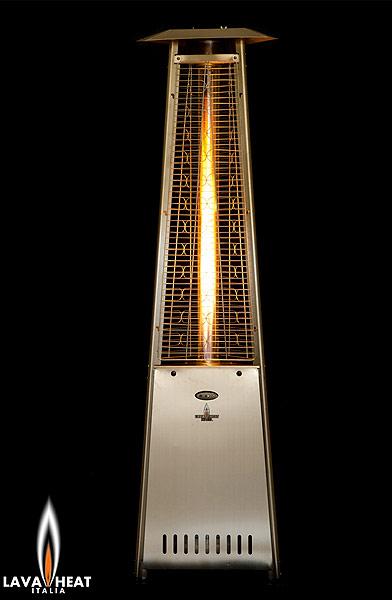 Lava Heat Italia Patio Heaters  Diamond Fire Glass Authorized Dealer