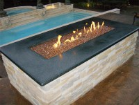 Copper Reflective Diamond Fire Pit Glass - 1 LB Crystal ...