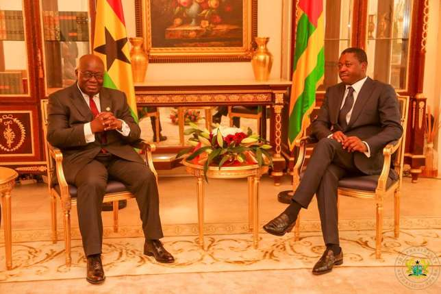 Akufo-Addo meets Gnassingbe over Togo crisis