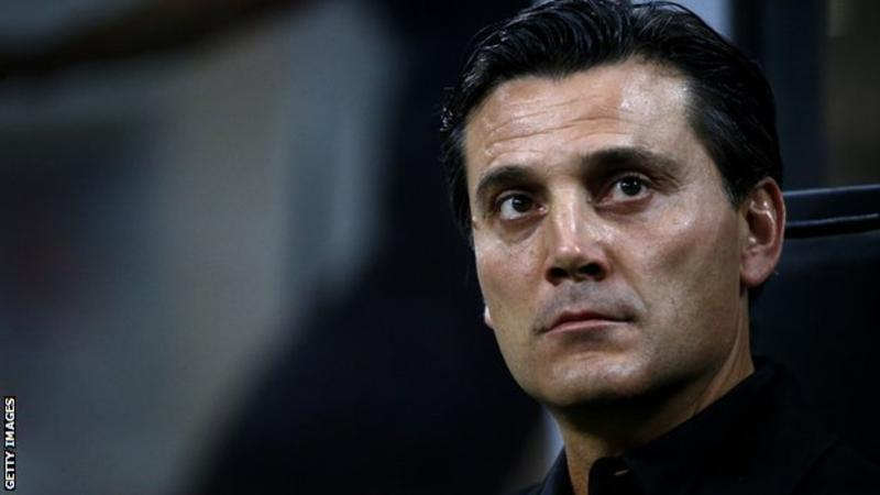 Vincenzo Montella: AC Milan sack coach & place Gennaro Gattuso in charge