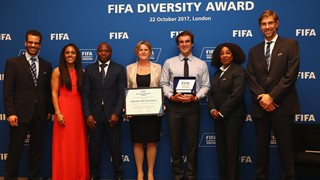FIFA Diversity Award 2017 crowns Soccer Without Borders