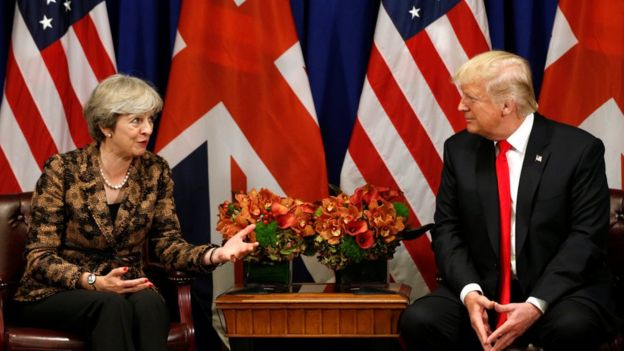 Theresa May: Trump was 'wrong' to retweet far-right posts