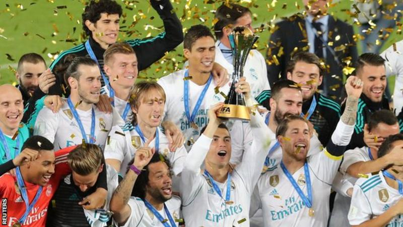 REAL MADRID ARE WORLD CHAMPIONS