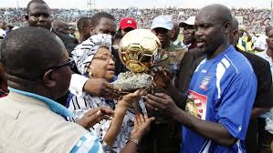 GEORGE WEAH IS LIBERIA PRESIDENT-ELECT