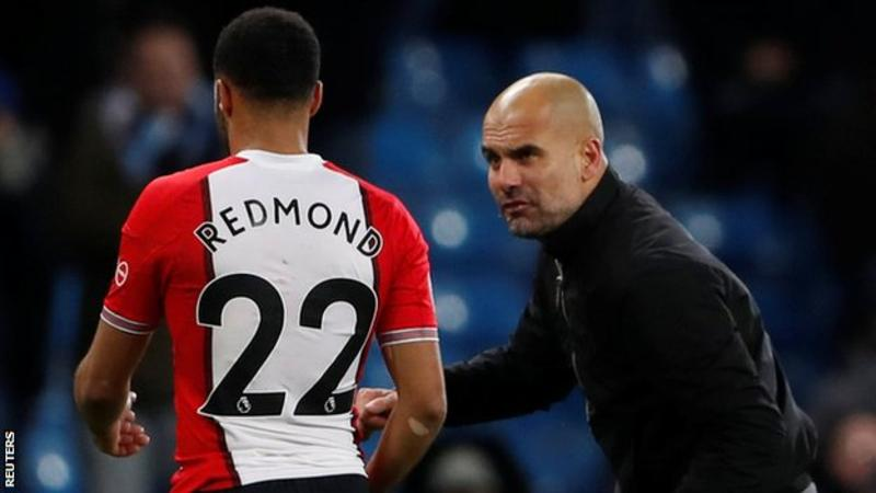 Pep Guardiola: Man City manager regrets Nathan Redmond outburst