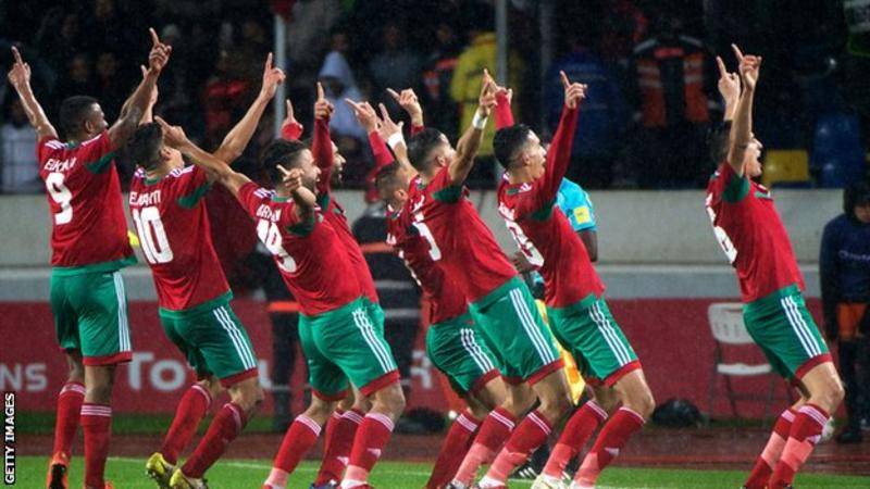 MOROCCO ARE CHAN 2018 CHAMPIONS
