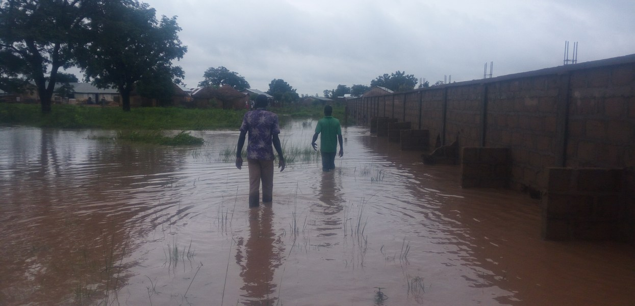 Three and half hours rainfall in Tamale causes havoc in the Datooyili Community
