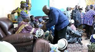 Yagbonwura Commends the Akuffo Addo government's developmental paths so far.