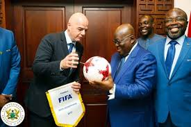 GOVERNMENT AND FIFA SMOKE PEACE PIPE