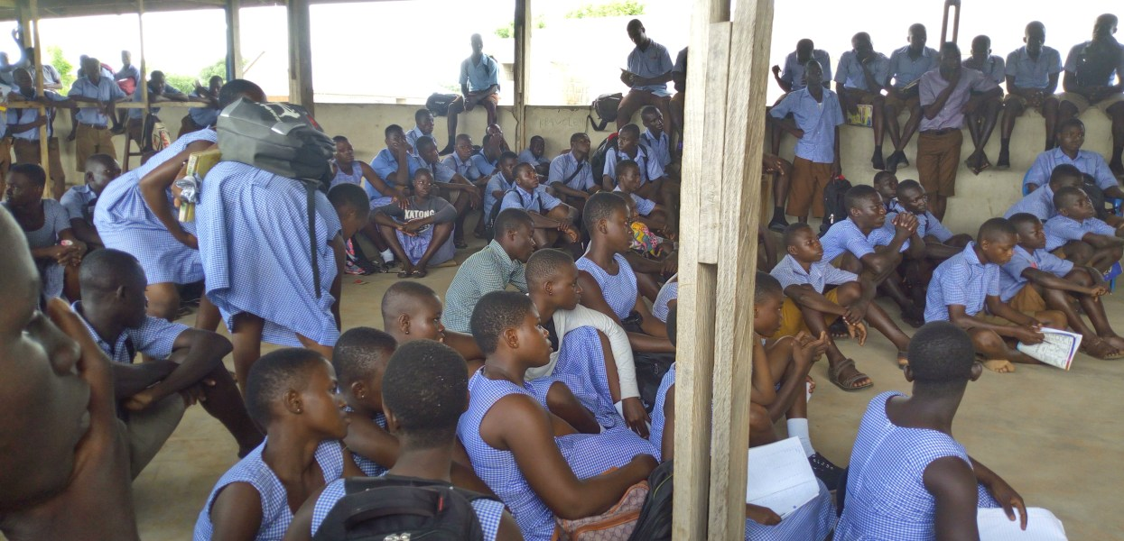 Presby SHS at Bamvim cries for furniture to ease academic pressure