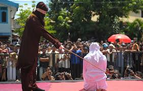 Malaysian Muslim lesbian couple caned in public punishment