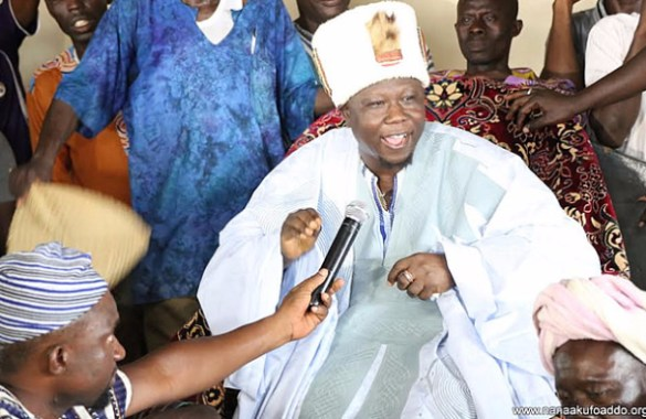 REGENT OF DAGBON IMPLORES DAGOMBAS AND KOKOMBAS IN NAKPACHIE TO LIVE IN PEACE