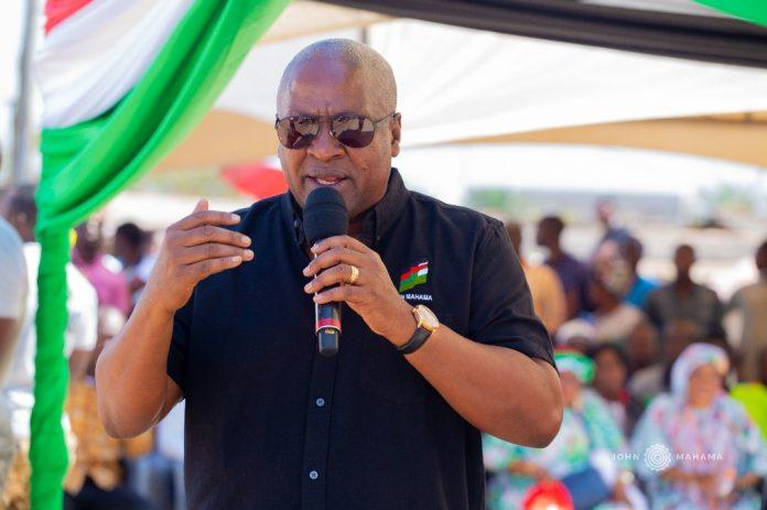 Mahama: I haven't promised SHS students allowances