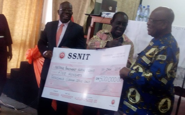 SSNIT supports pensioners' medical scheme with GHS500K