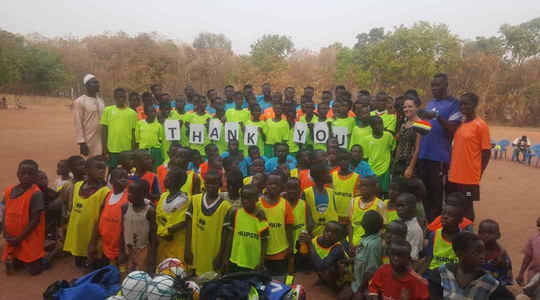 Tiyumba FC gets training kits and equipment worth €1,500