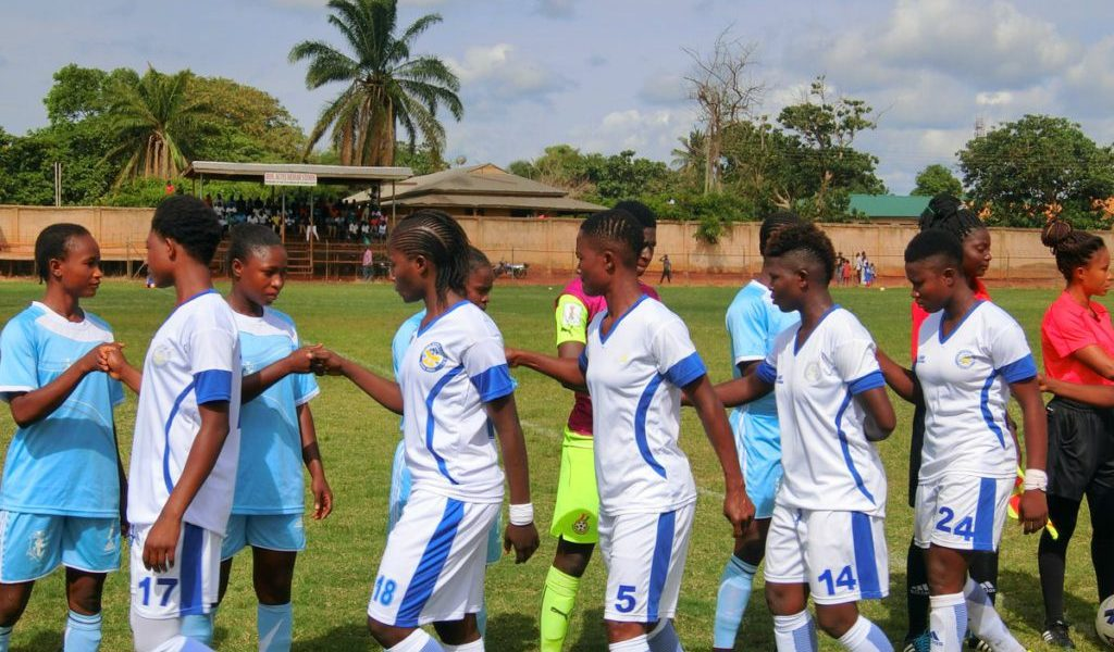 Northern Ladies suffered 2-1 defeat to Ampem Darkoa in Techiman