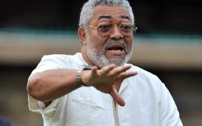 JJ Rawlings pays glowing tribute to late national Chair of the NDC; Dr. Kwabena Adjei