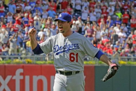 Josh+Beckett+Los+Angeles+Dodgers+v+Philadelphia+8tJ3W8Ds6Hsl