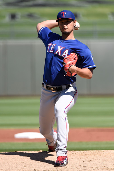 Yu+Darvish+Texas+Rangers+v+Kansas+City+Royals+TbDvUVZm20Bl