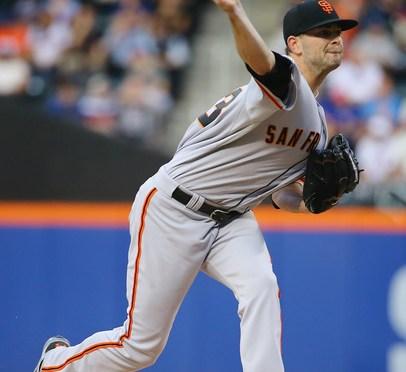 Chris Heston no-hits the Mets at Citi Field