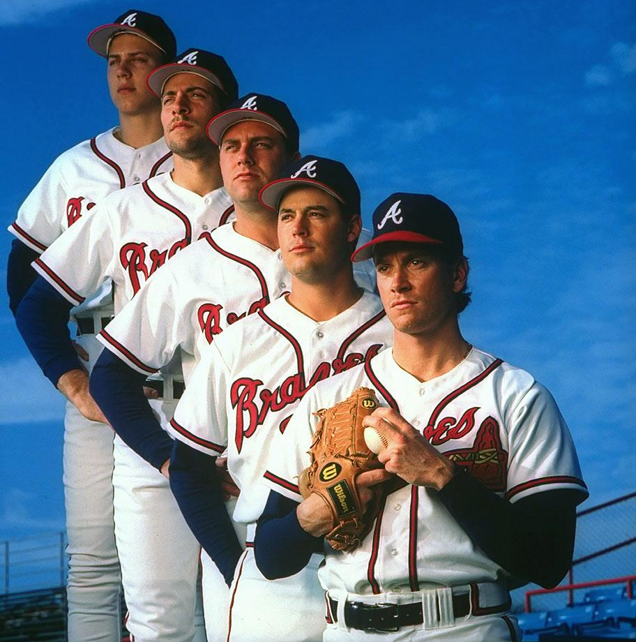 1993-0221-Tom-Glavine-Greg-Maddux-Pete-Smith-John-Smoltz-Steve-Avery-05087941