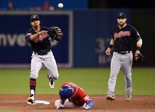 Nothing says 'Merica like the Indians winning their 14th straight in Canada on Canada Day in 19 innings
