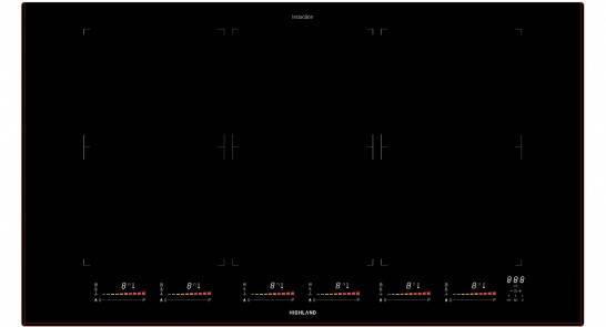 900MM KERABLACK GLASS INDUCTION SERIES HP6.2 IFC