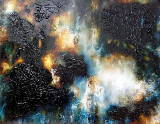 Abstract Original by Salvador Roman
