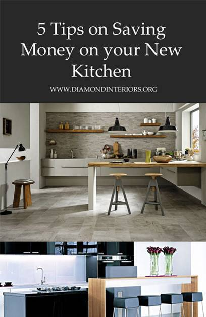 5 Tips on Saving Money on your New Kitchen by Diamond Interiors Melbourne