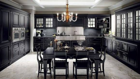 Gothic style guide diamond interiors - Cucine lussuose moderne ...