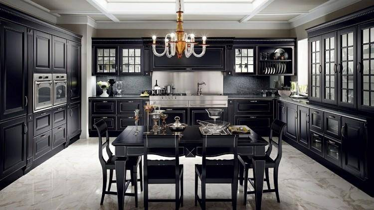 & Gothic Kitchen Design - DIAMOND INTERIORS