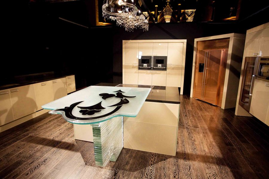 The £1m-plus kitchen - Copyright Sean Gardiner 2012