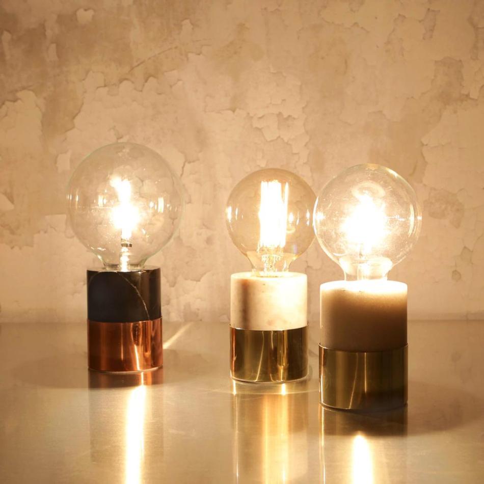 Kenzie Marble Table Lamp