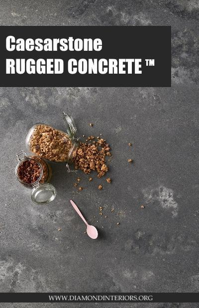 Caesarstone's Rugged Concrete_Blog by Diamond Interiors