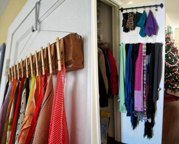 Maximise Your Wardrobe Space - hanging accessories