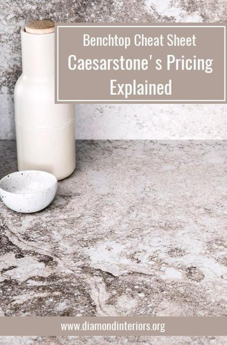 Caesarstone price - Kitchen renovation quotes