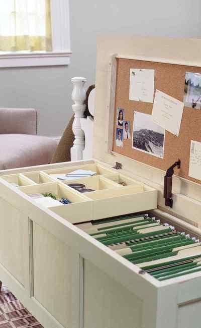 diy furniture hacks - home office