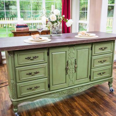 diy furniture hacks - kitchen island